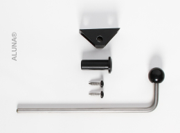 Lock for ALUNA® economy wall